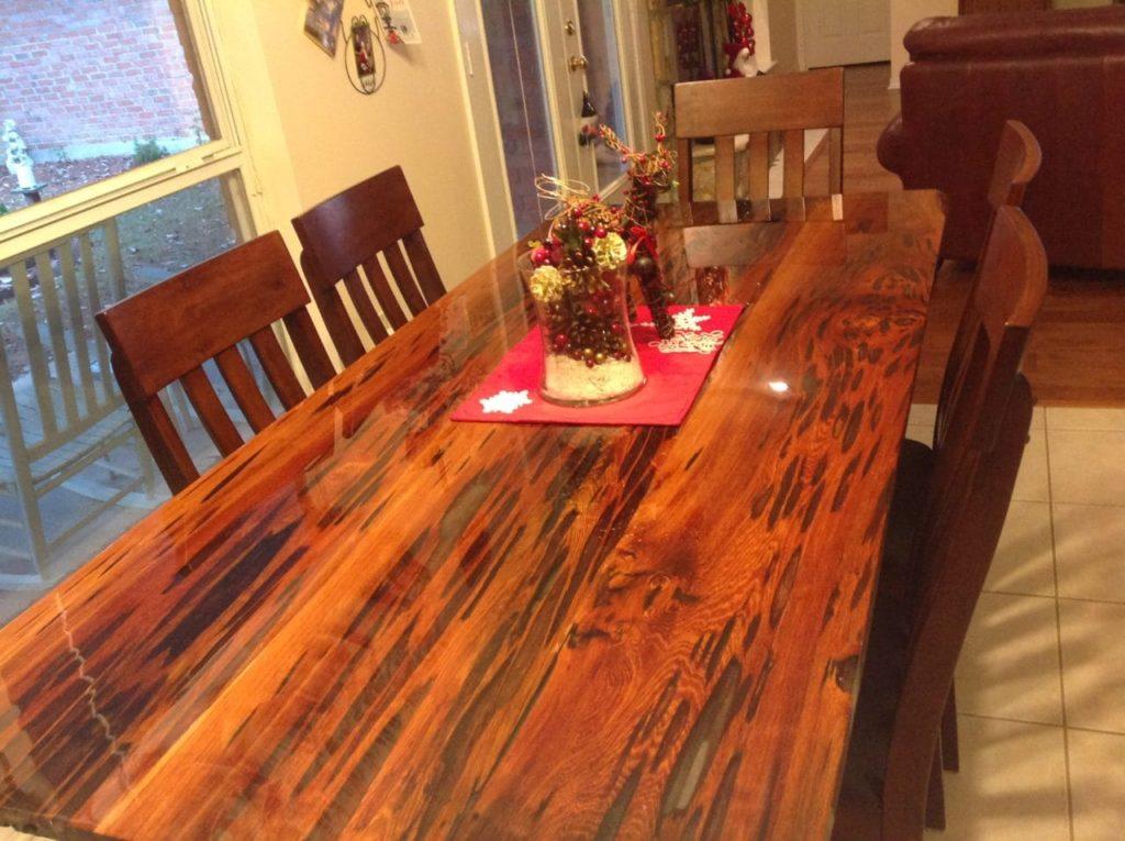 Pecky Sinker Cypress Table - final
