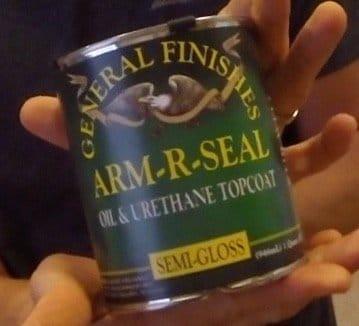 oil and urethane sealer