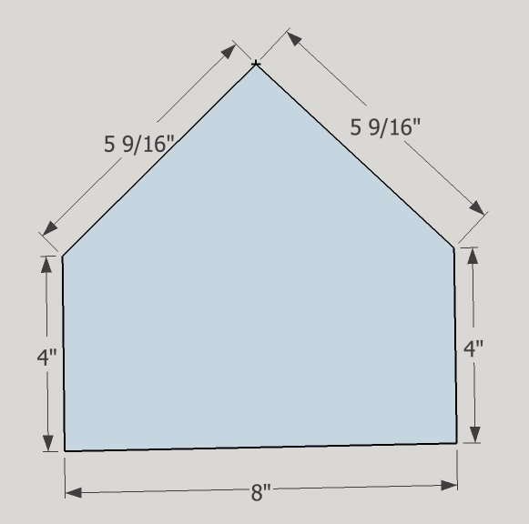 Baseball Lamp home plate dimensions