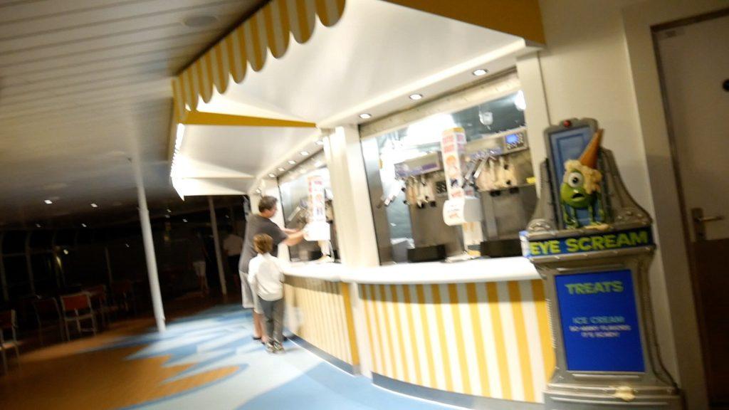 Disney Fantasy Cruise Tips Eye Scream Station