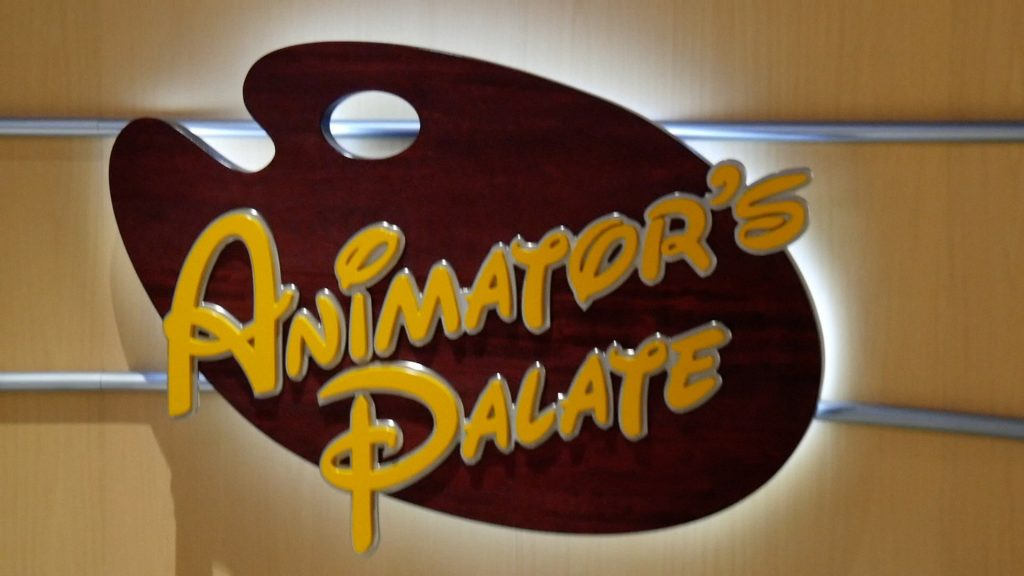 Disney Fantasy Cruise Tips Animator's Palate