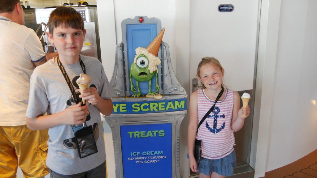 Disney Fantasy Cruise Tips ice cream