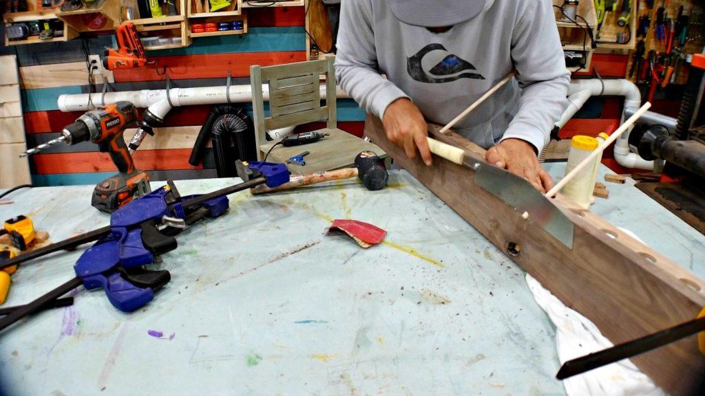 Baseball Bat Display Rack Dowel for Glove