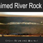 Reclaimed Walnut River Rock Table