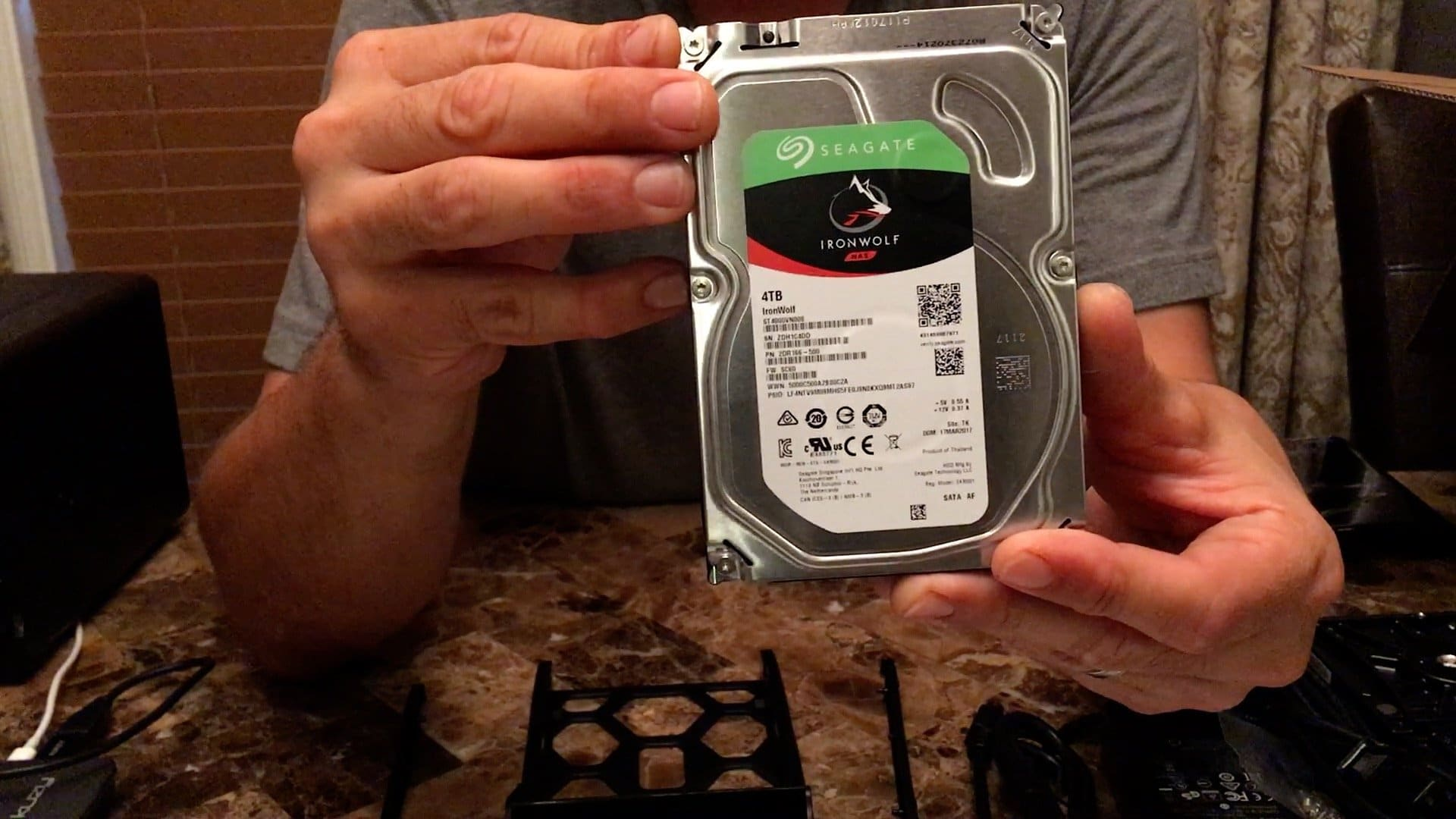 Home Data Backup Solution Pahjo Designs Nas Network Wiring Diagram Seagate 4tb Drive