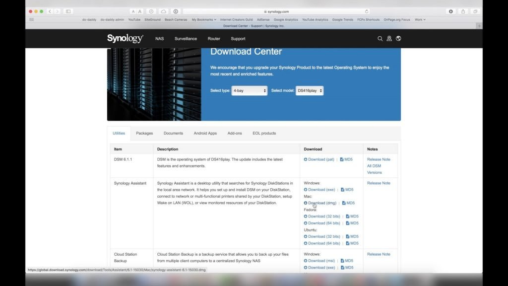 Synology Download Center