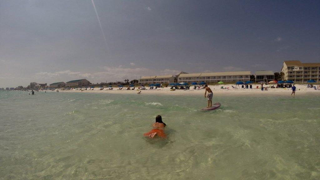 Paddle Boarding in Destin Florida - Shane Surfing