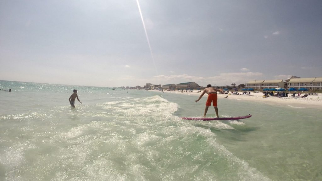 Paddle Boarding in Destin Florida - Zeph Surfing