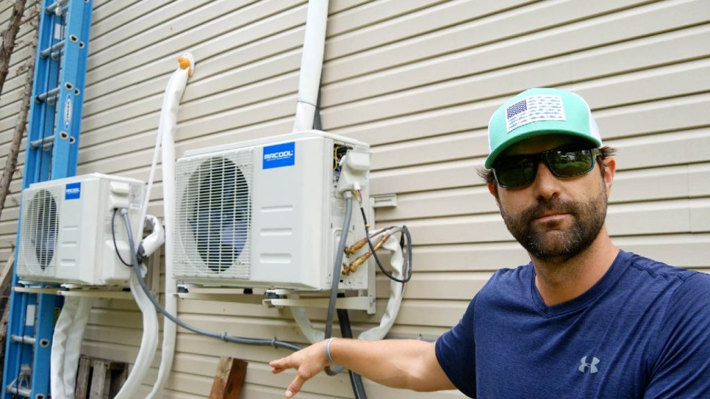 How to Install a Ductless Mini Split - Part 2 - 2