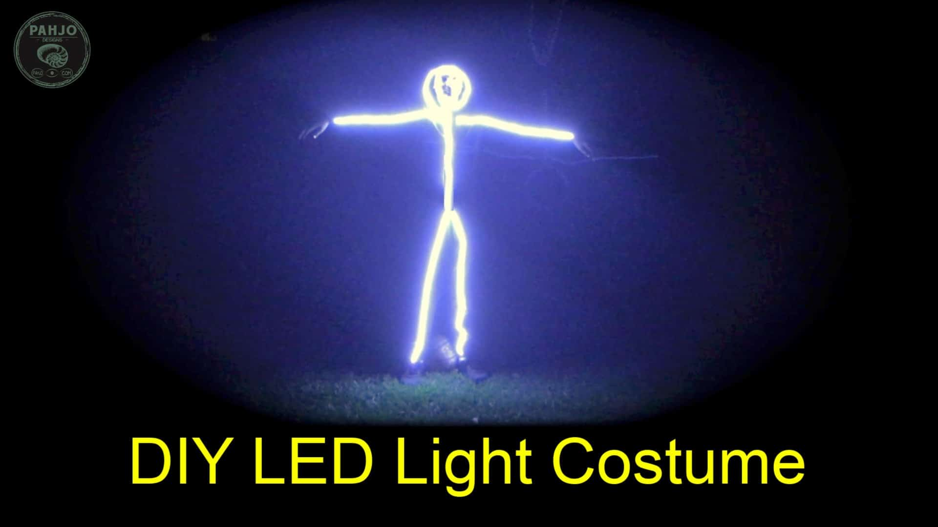 DIY LED Light Costume