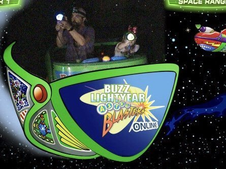 Disneyland vs. Disney World Ride Comparisons Buzz Lightyear Astro Blaster