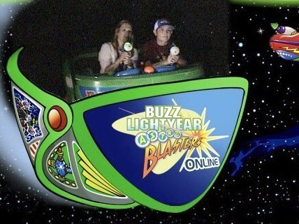 Disneyland vs. Disney World Ride Comparisons Buzz Lightyear Astro Blaster 2