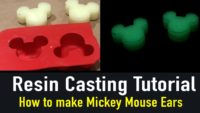 Resin Casting - How to Make Mickey Mouse Ears