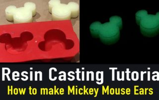 Resin Casting With Glow Powder