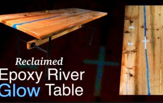 How to make a rustic table with epoxy resin