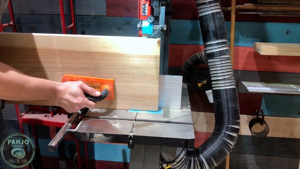 DIY Custom Built In Cabinets cypress wood resaw