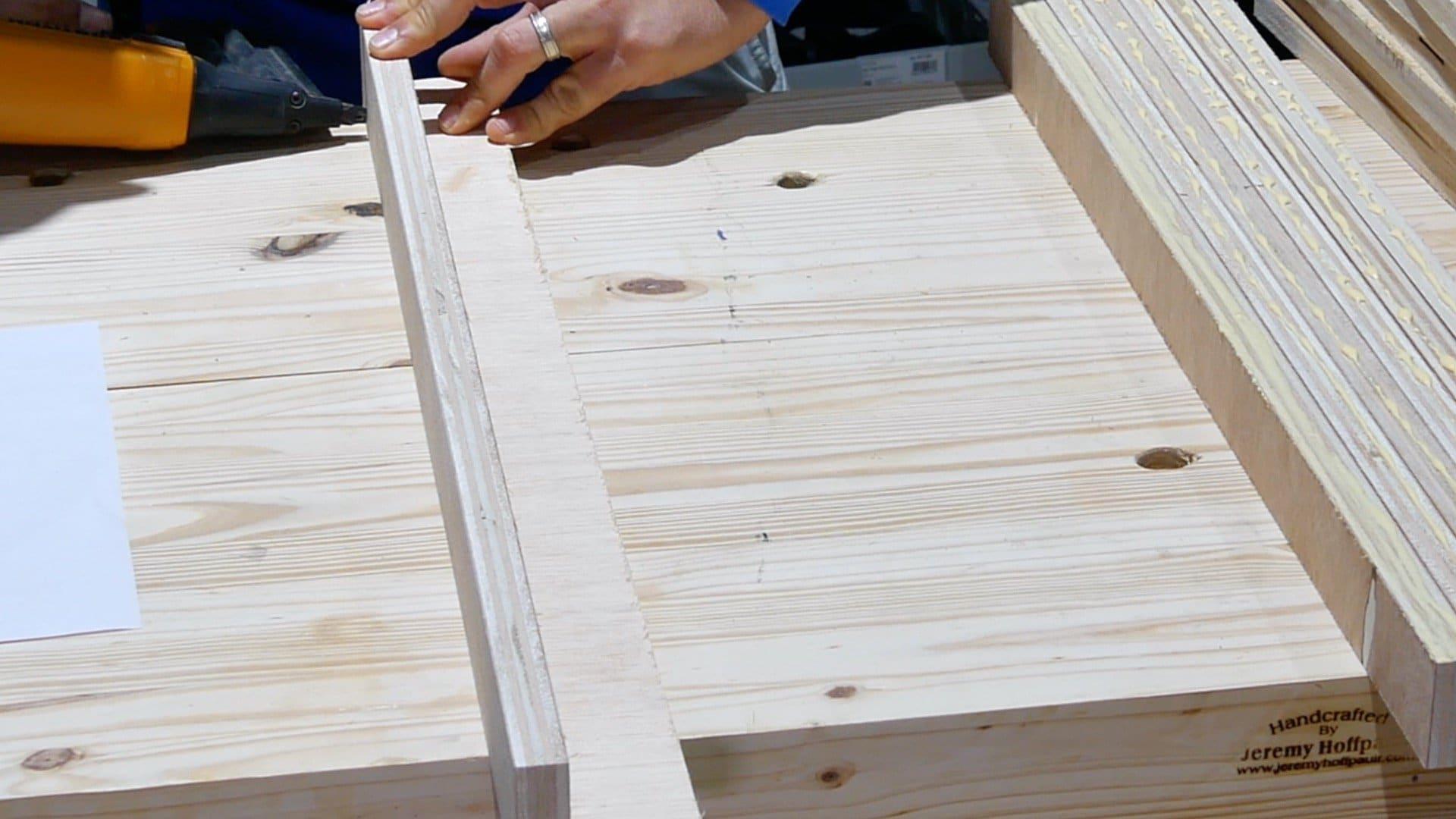 DIY Base Cabinet with Drawers_Corner