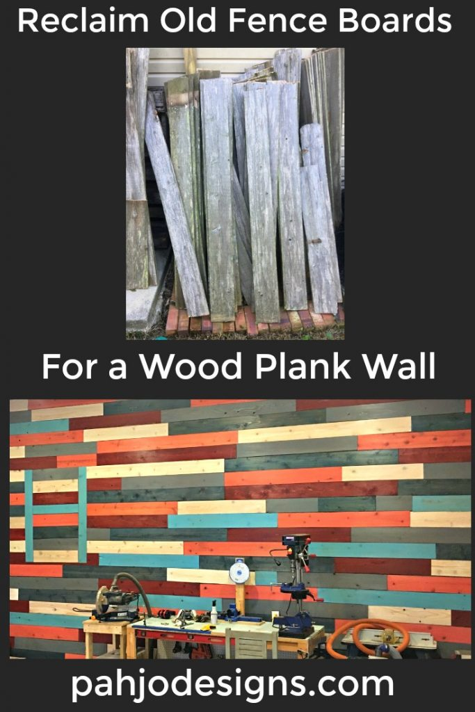 How to Use Old Fence Boards on a Wall_Pinterest