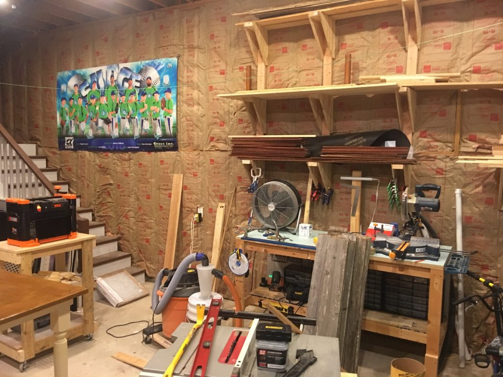 how to use old fence boards on a wall_workshop before
