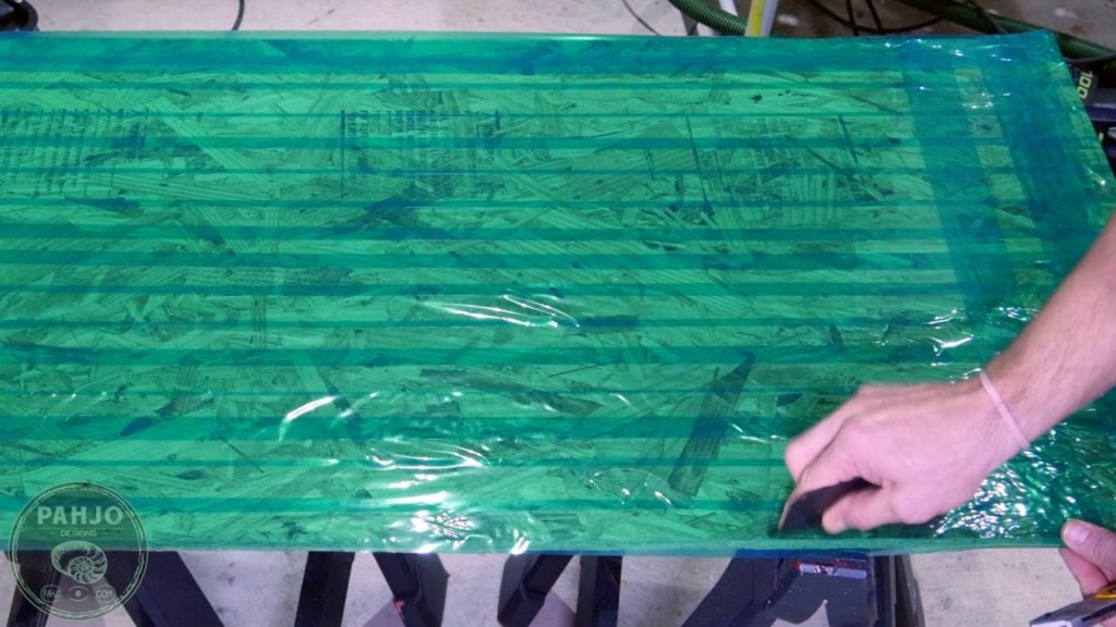 DIY Wood and Resin Wall Art - Baseball Storage Rack_resin mold silicone tape