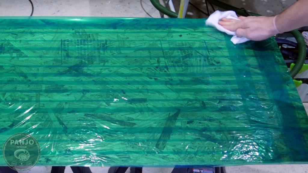 DIY Wood and Resin Wall Art - Baseball Storage Rack_resin mold furniture wax