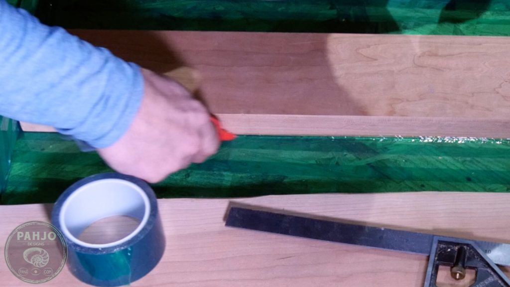 DIY Wood and Resin Wall Art - Baseball Storage Rack_seal resin mold