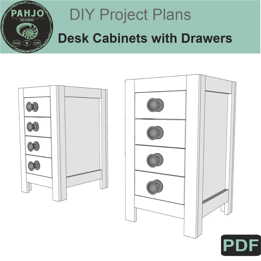 Base Cabinet with Drawers DIY Plans