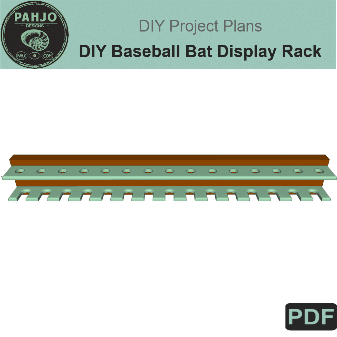 Diy Baseball Bat Display Rack Plans