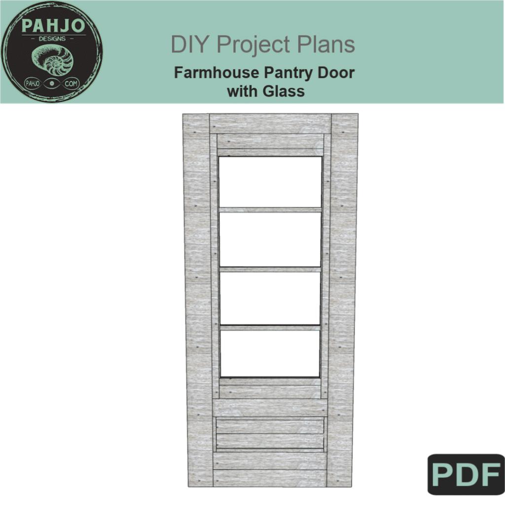 DIY Farmhouse Pantry Doors DIY Plans 1080
