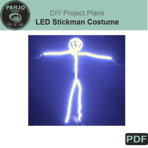 LED Stickman Costume DIY Plans