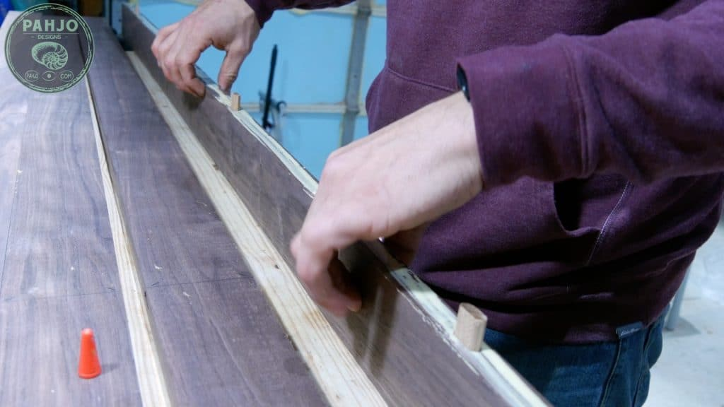 How To Build DIY Double Sliding Barn Door Join Boards and Glue Up