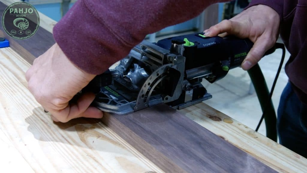 How To Build DIY Double Sliding Barn Door Festool Domino DF 500