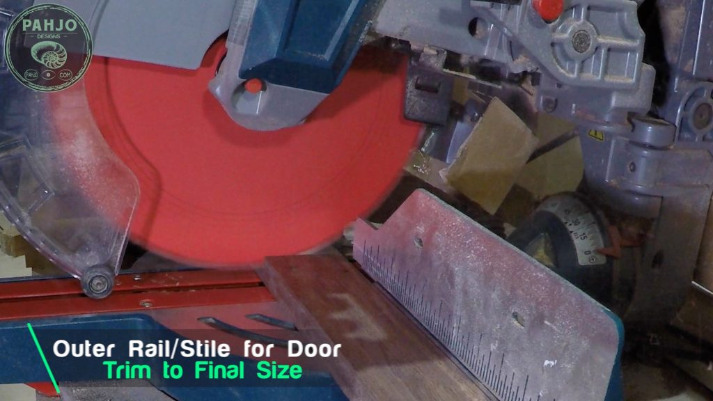 How To Build DIY Double Sliding Barn Door Trim Outer Stile