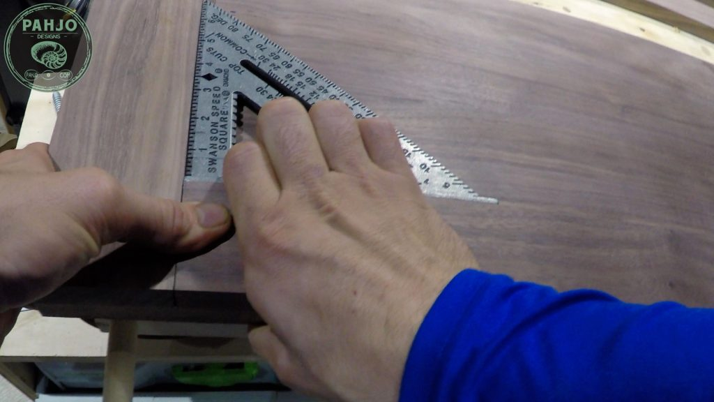How To Build DIY Double Sliding Barn Door Speed Square to Keep Stile and Rail Square