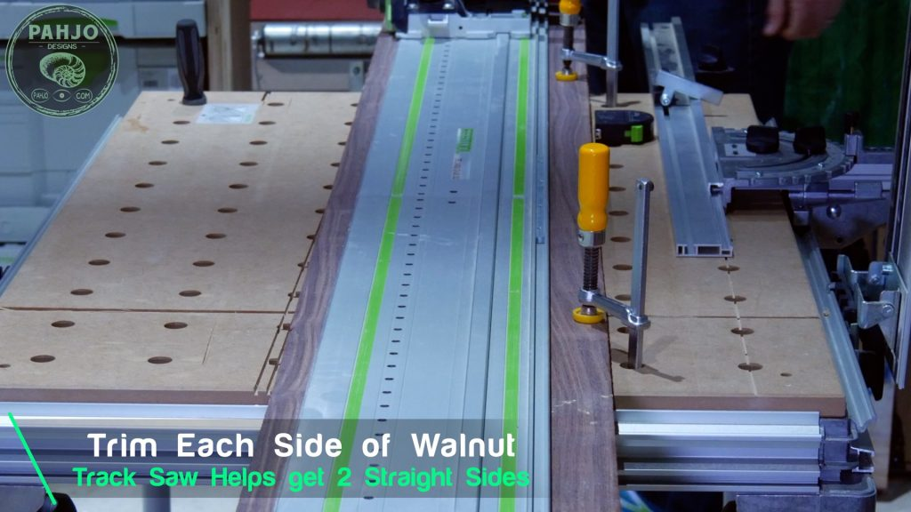 How To Build DIY Double Sliding Barn Door Track Saw Straight Sides
