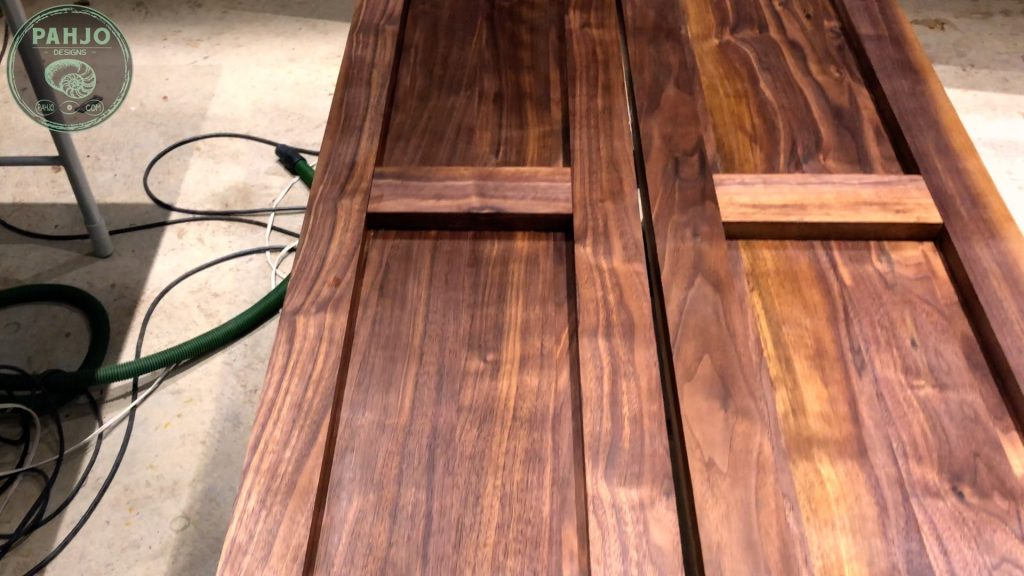 How To Build DIY Double Sliding Barn Door Rubio Monocoat Finish