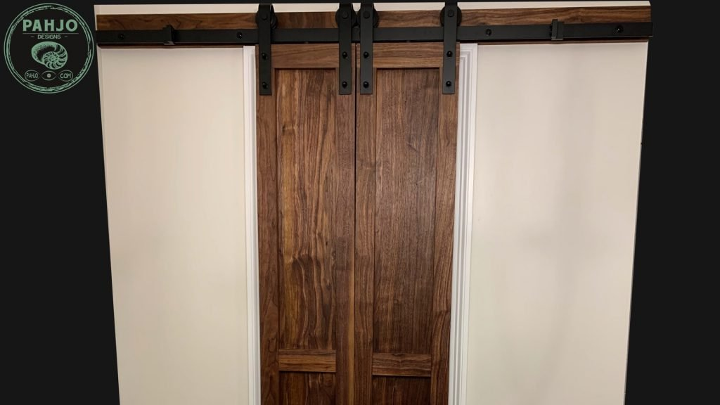 How To Build Diy Double Sliding Barn Door Hardware