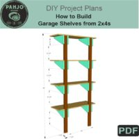 Garage Shelving DIY Plans