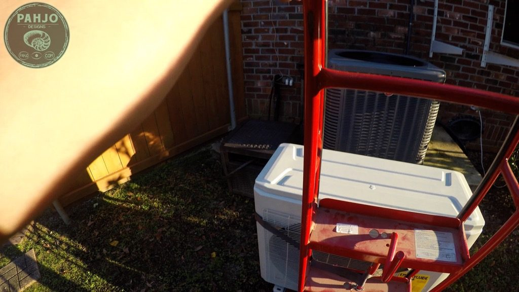 DIY Mini Split Install Outside Condenser MRCOOL 36k