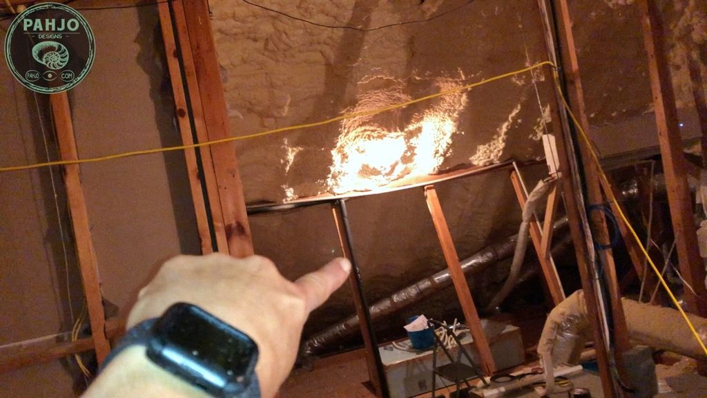 DIY Mini Split Install in Spray Foam Attic Air Circulation