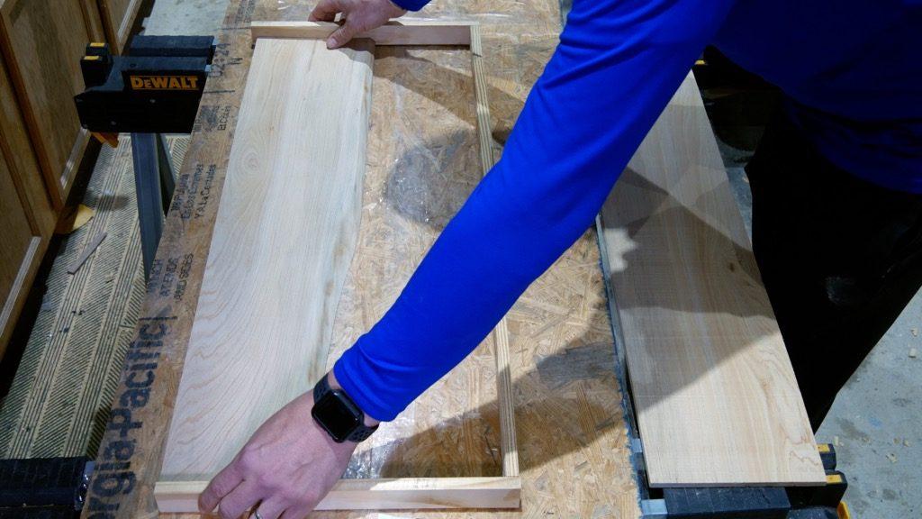 Resaw Cypress Wood