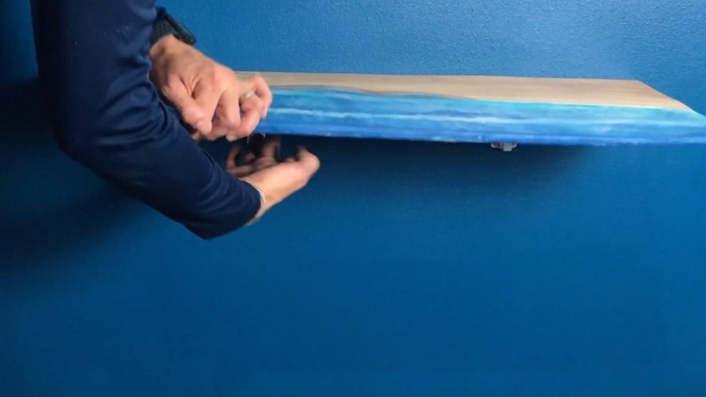 DIY folding wall desk hinges
