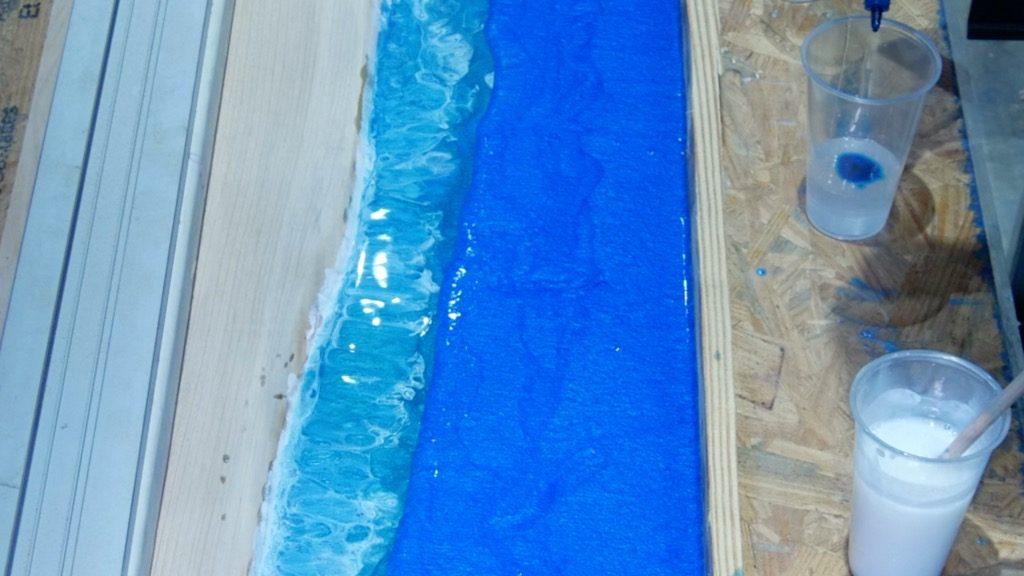 resin transparent blue dye