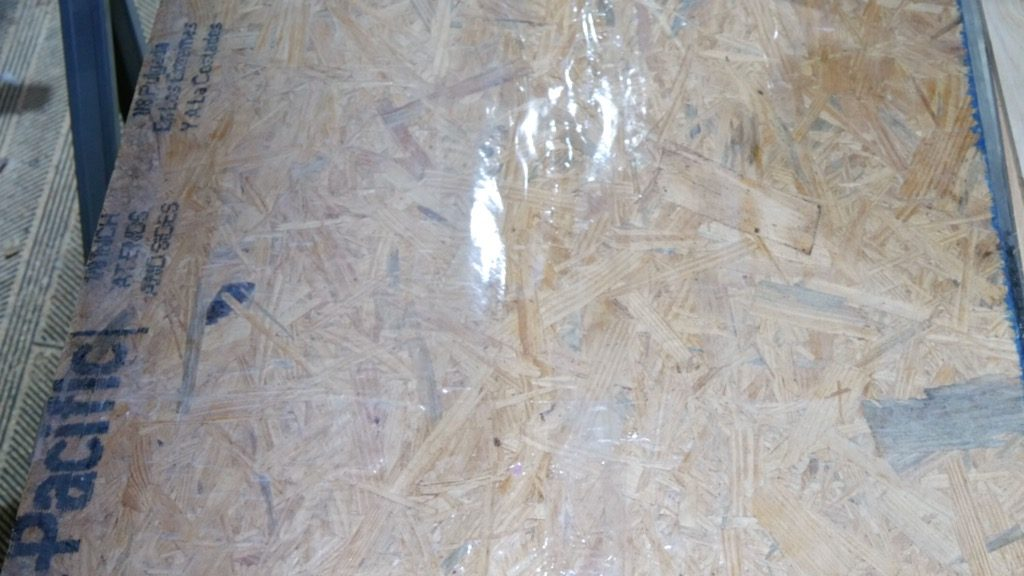 Resin Mold using Particle Board and Packing Tape