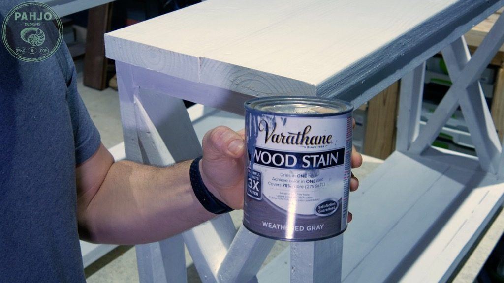 how to distress painted wood furniture with stain