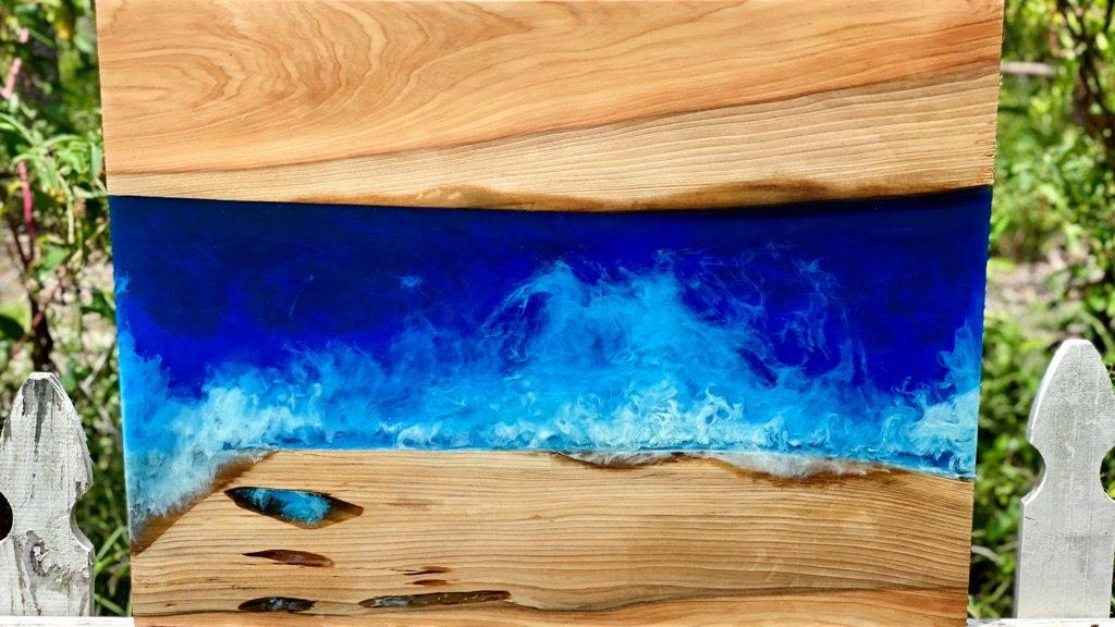 Resin Ocean Wave Art Tutorial