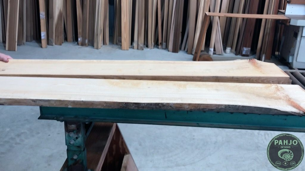 resaw cypress slab