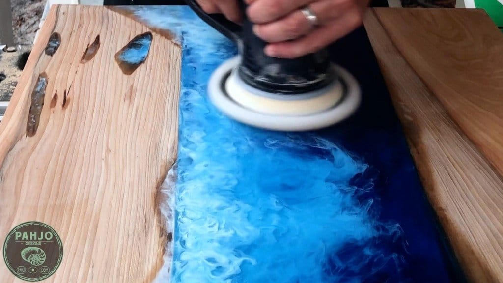 Buffing Polish with Festool Sheepskin
