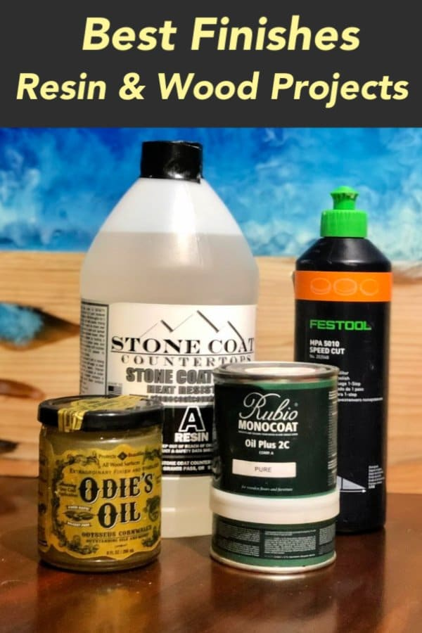 In this article, learn the best finishes for epoxy river table. Also, I show you how to finish an epoxy table using each finish. In fact, these are the exact finishes & techniques I use on the custom made furniture and art pieces for my clients.