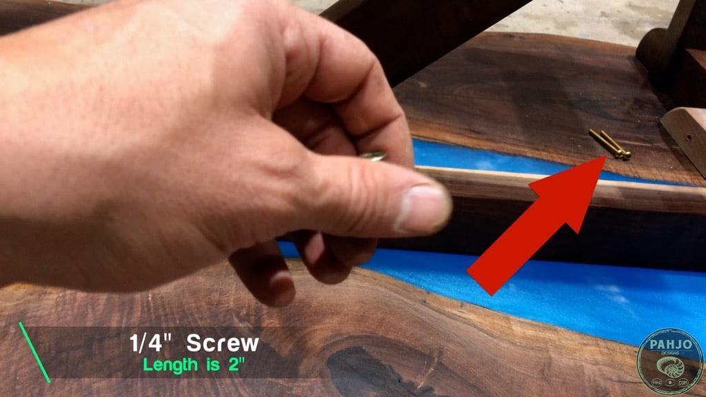 threaded insert screw size